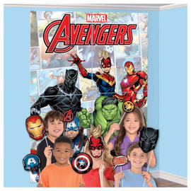 Marvel Avengers Powers Unite™ Scene Setter with Props -16ct