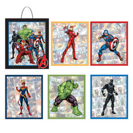 Marvel Avengers Powers Unite™ Wall Frame and Cutouts