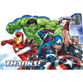 Marvel Epic Avengers™ Postcard Thank You Cards -8ct