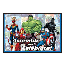 Marvel Avengers Powers Unite™ Postcard Invitations -8ct