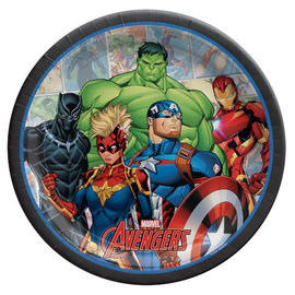"Marvel Avengers Powers Unite™ 9"" Round Plates -8ct"
