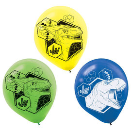 Jurassic World™ Latex Balloons -6ct
