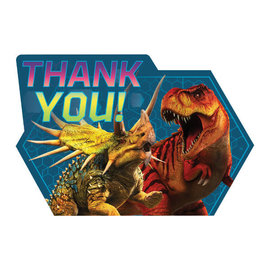 Jurassic World™ Postcard Thank You -8ct