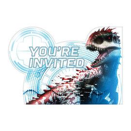 Jurassic World™ Postcard Invitations -8ct