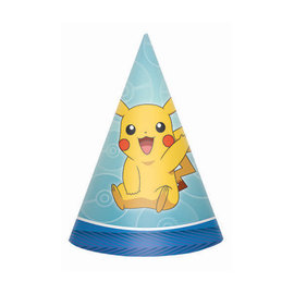 Pokemon™ Paper Cone Hats -8ct
