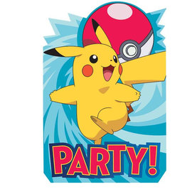 Pokemon™ Postcard Invites -8ct