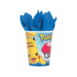 Pokemon™ Cups, 9 oz. -8ct