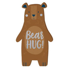 Bear-ly Wait Mini Standing Sign