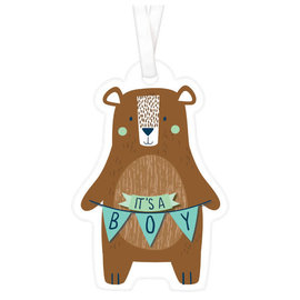 Bear-ly Wait Favor Tags -25ct
