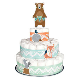 Bear-ly Wait Diaper Cake Kit -6ct