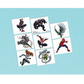 Spider-Man™ Webbed Wonder Tattoos -8ct