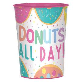 Donut Party Favor Cup, 16oz