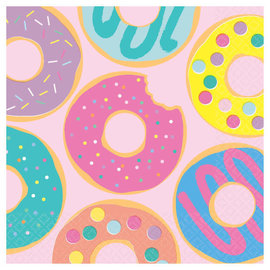Donut Party Luncheon Napkins -16ct