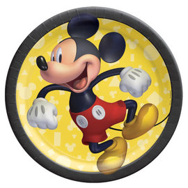 "Mickey Mouse Forever 7"" Round Plates -8ct"