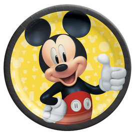 "Mickey Mouse Forever 9"" Round Plates -8ct"
