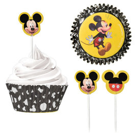 Mickey Mouse Forever Cupcake Cases and Picks Combo Pack -48ct