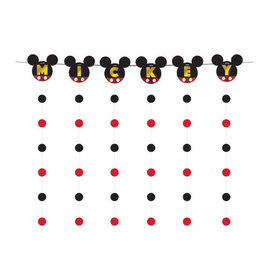 Mickey Mouse Forever Banner String Decoration Kit -7ct