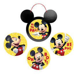 Mickey Mouse Forever Wall Frame and Cutout Decoration Kit