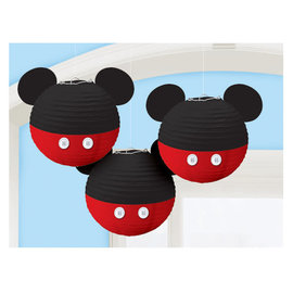Mickey Mouse Forever Paper Lanterns -3ct