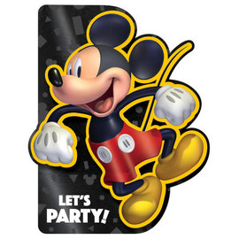 Mickey Mouse Forever Deluxe Foil Invite -8ct
