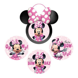 Minnie Mouse Forever Wall Frame and Cutout Decoration Kit -6ct