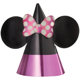 Minnie Mouse Forever Cone Hats -8ct