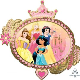 Princess Once Upon Foil Balloon, 34""