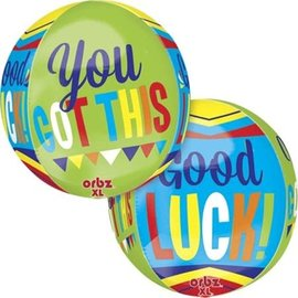 Good Luck You Got This Orbz Balloon, 16""