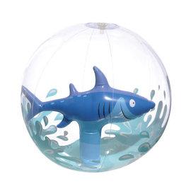 """Shark Inflatable Beach Ball, 12"""""""