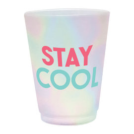 Just Chillin' Frosted Plastic Tumblers, 14 oz.