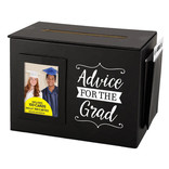 "Advice Card Box With Cards, 8""W x 6""H x 5""D"