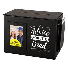"""Advice Card Box With Cards, 8""""W x 6""""H x 5""""D"""
