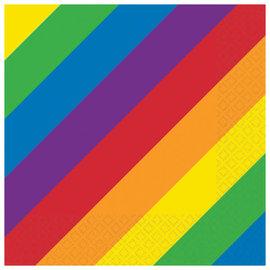 Rainbow Luncheon Napkins -16ct