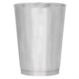 Silver Electroplated 10oz Plastic Tumblers -30ct