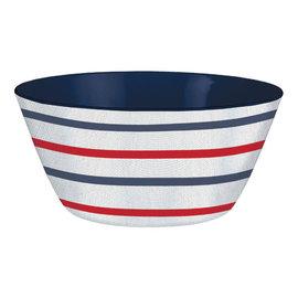 Patriotic Large Melamine Salad Bowl