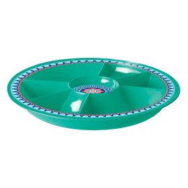 Boho Vibes Deluxe Melamine Chip & Dip Platter