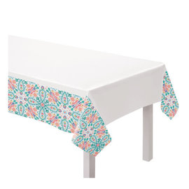 Boho Vibes Fabric Table Cover