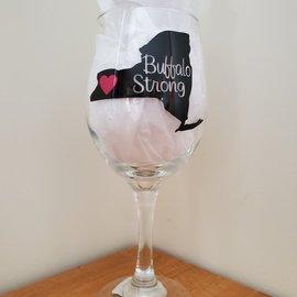 Buffalo Wine Glass