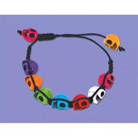 """Skull Bracelet, 4 3/4"""""""