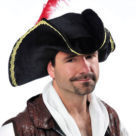 Buccaneer Hat w/Feather