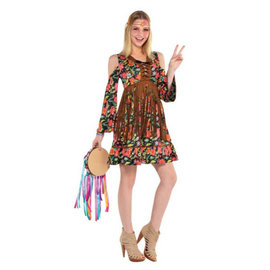 Women's Flower Power Hippie