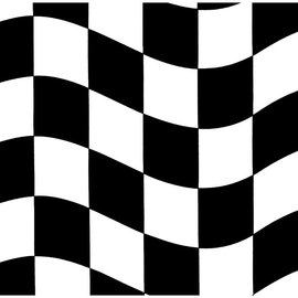 Black & White Check Beverage Napkins, 16 ct