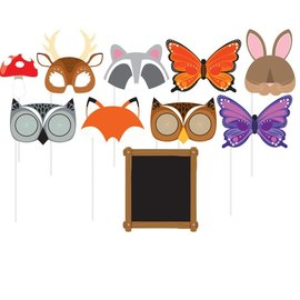 Forest Animals Photo Props 10 ct