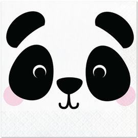 Panda Animal Face Luncheon Napkins, 16 ct