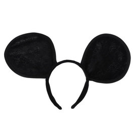 Mouse Ears Plush Headband