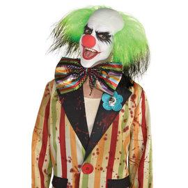 Scary Clown Oversized Bloody Bowtie