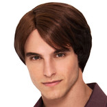 Brown Chick Magnet Wig