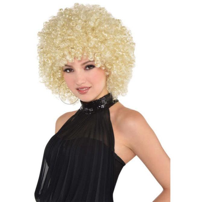 Runway Fro Blonde Wig