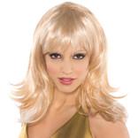 Blonde Flirty Feather Shag Wig