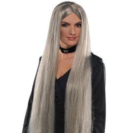 """Grey Witch Wig- 36"""""""